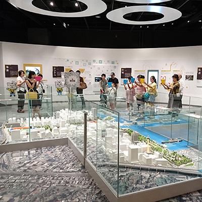 ニュースパーク【日本新聞博物館】常設展示コンテンツ 取材体験ゲーム 横浜タイムトラベル