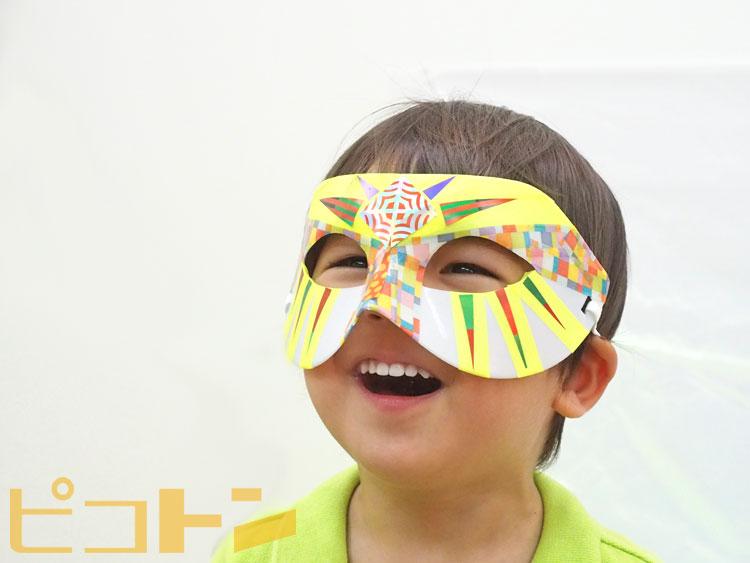 ハロウィンマスクを被って子供たちがパレードを楽しんでくれる姿が想像できます☆