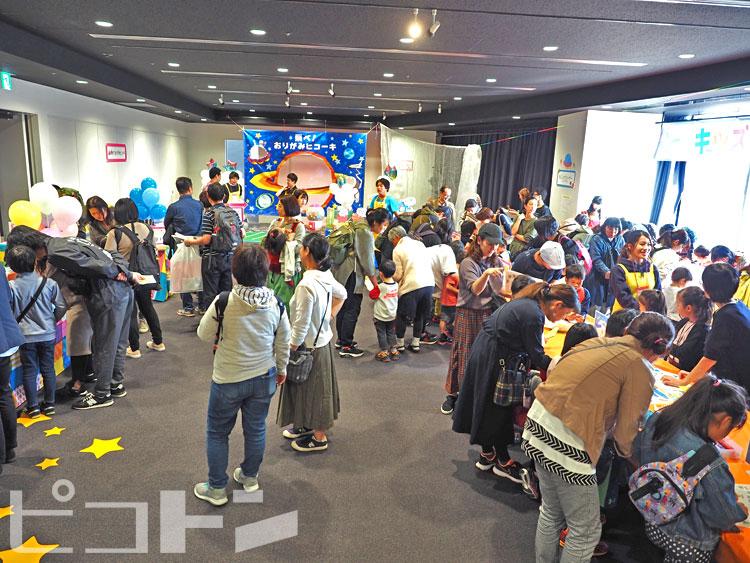 イベントを楽しみにしてくれていた人たちで賑やかさが増しました。