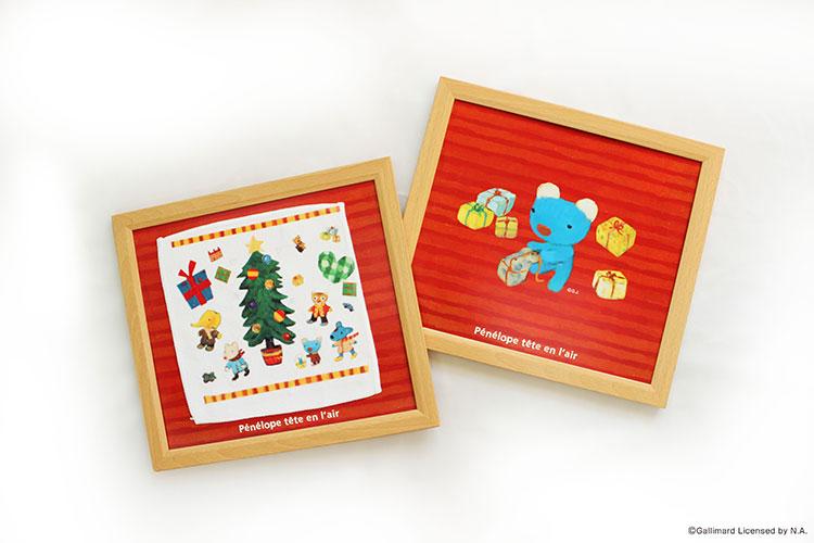 『ペネロペ アートタオル作り』にクリスマスバージョンが登場!