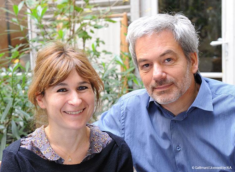 絵:アン・グットマン(写真左)/文:ゲオルグ・ハレンスレーベン(写真右)